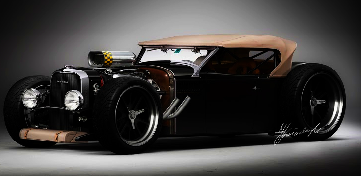1932 Lincoln Phaeton Rat Rod Concept