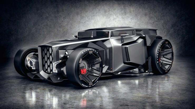 Lamborghini Rat Rot Futuristic3