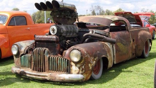 "Rat Rod called ""Big Mamma"""