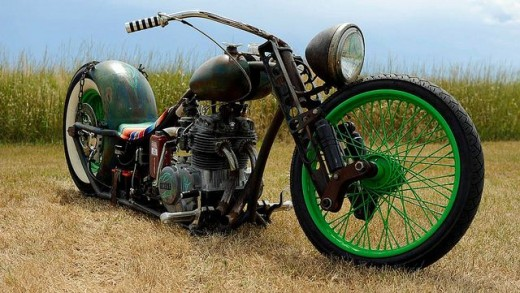 Unique Rat Rod Motorcycle Bobber