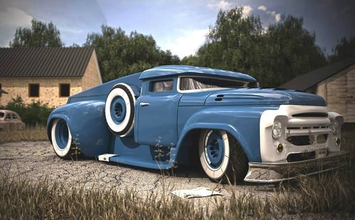 Russian Zil 130 Rat Rod