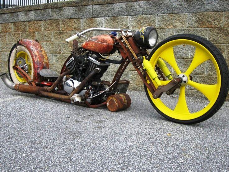 Rat Rod Motorcycle