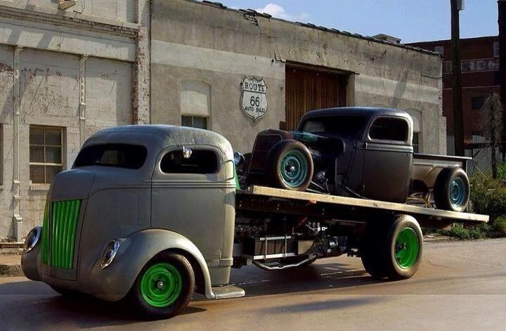 Rat Rod vehicles
