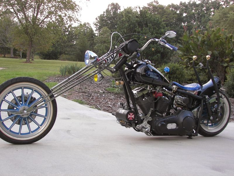 Rat Rod Motorcycle