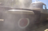 1959 CHEVY APACHE Burnout