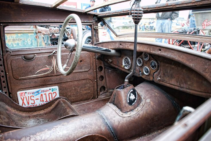 Rat Rod Ideas For Interior Rat Rod Street Rod And Hot