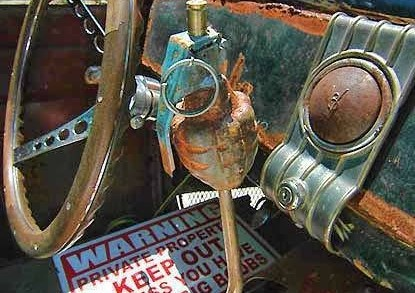 Rat Rod ideas for interior