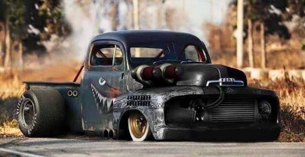 Godzilla Killer – Monster Rat Rod Project of the 2016