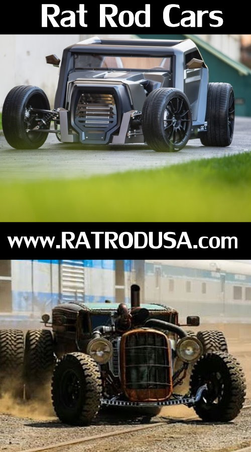 Rat Rod cars and trucks 2016
