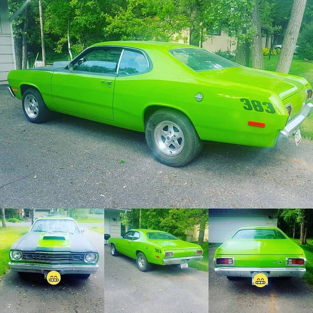 Your cars:  1973 Plymouth Duster
