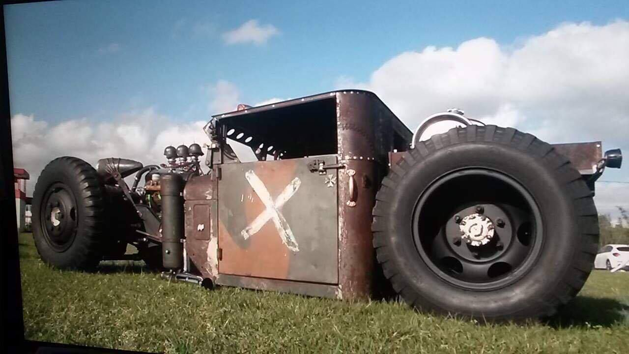 Rat Rod Project of  Augusto Lourensini