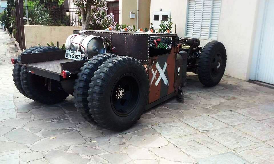Rat Rod of Augusto Lourensini 2
