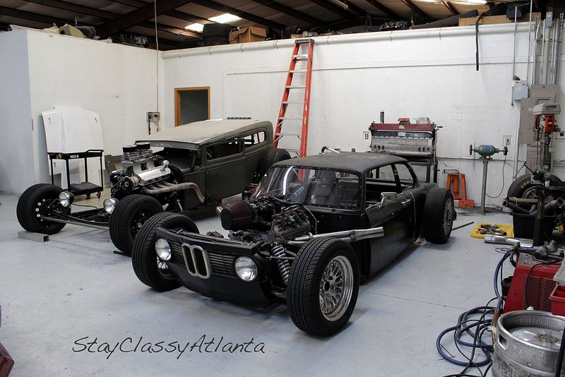 Rat Rod BMW –  Dashing decision to a European brand