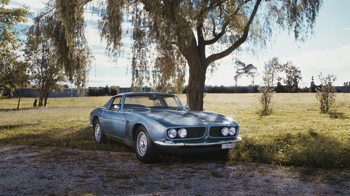 Iso Grifo – the most famous car built by Iso Rivolta