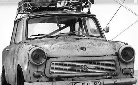 Rat Rod Trabant