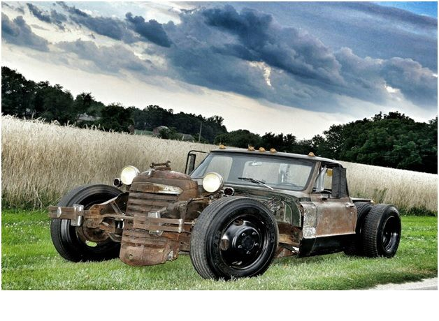 GMC RAT ROD