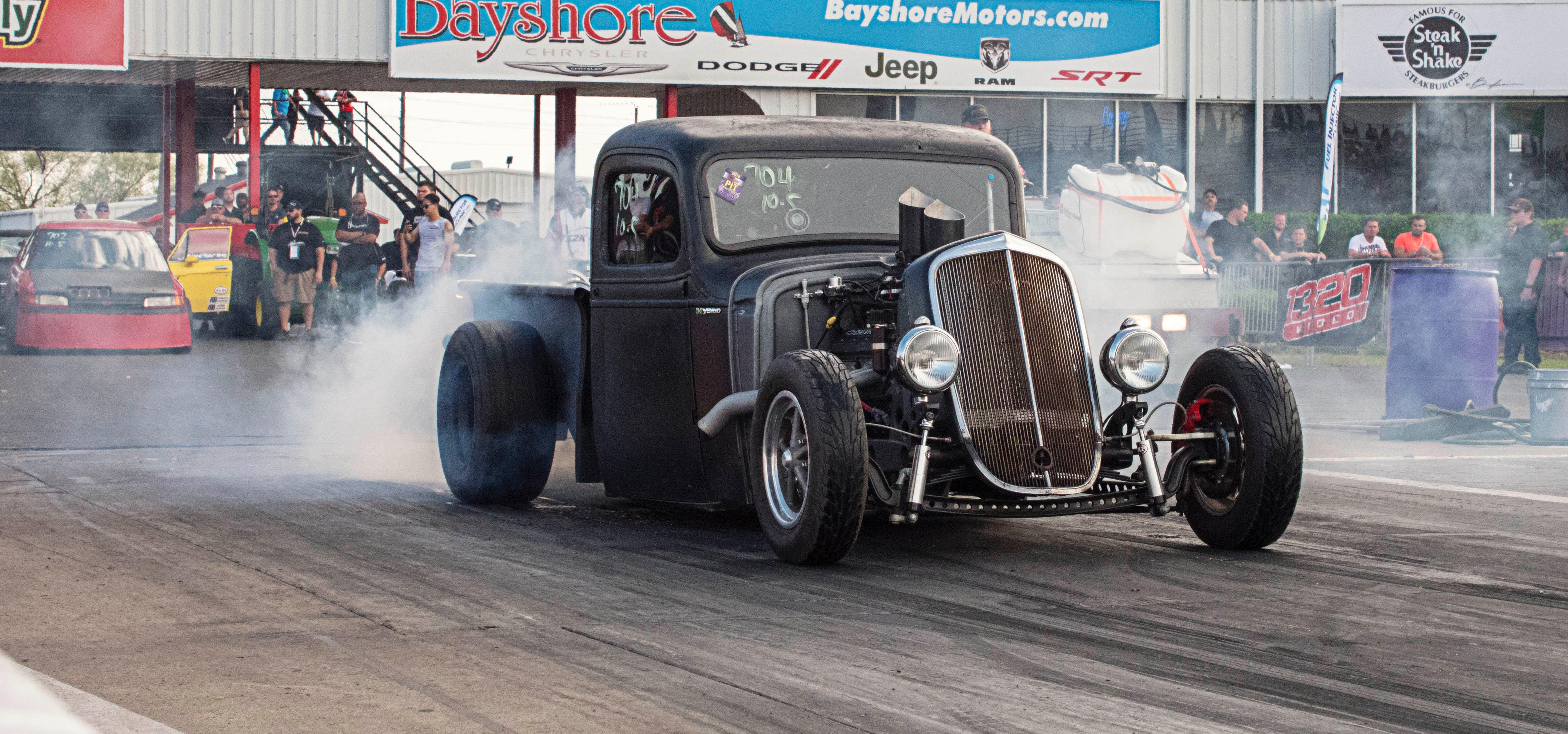Rat Rod project of Andres Cavazos  – Chevy Truck