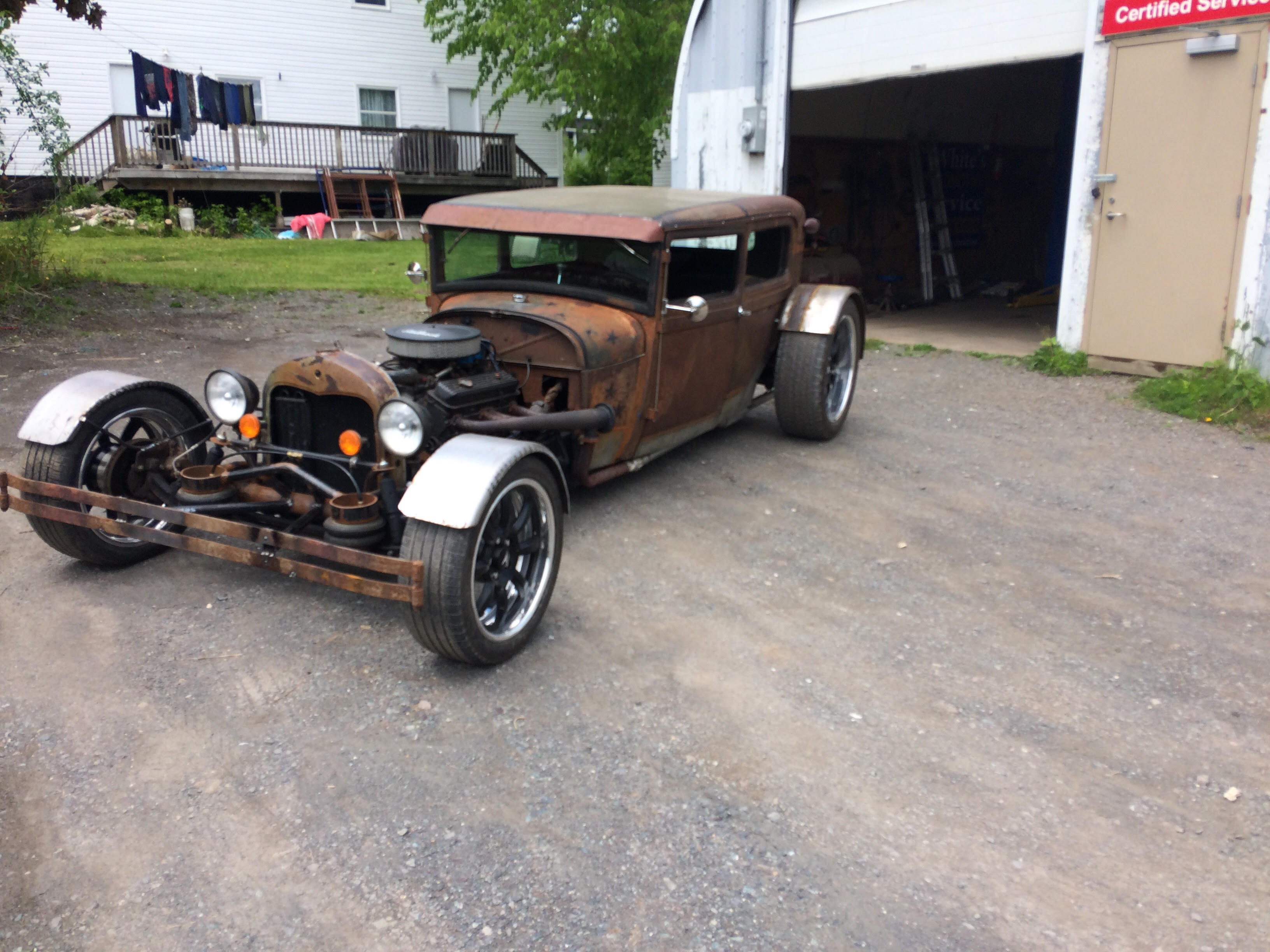 Rat Rod project of  Marshall from Nova Scotia, Canada