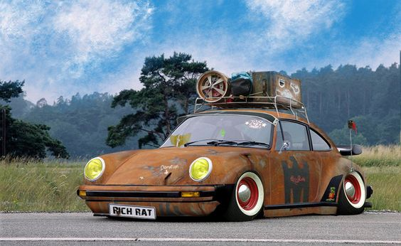 Rich Rat Porsche 911 Rat Rod