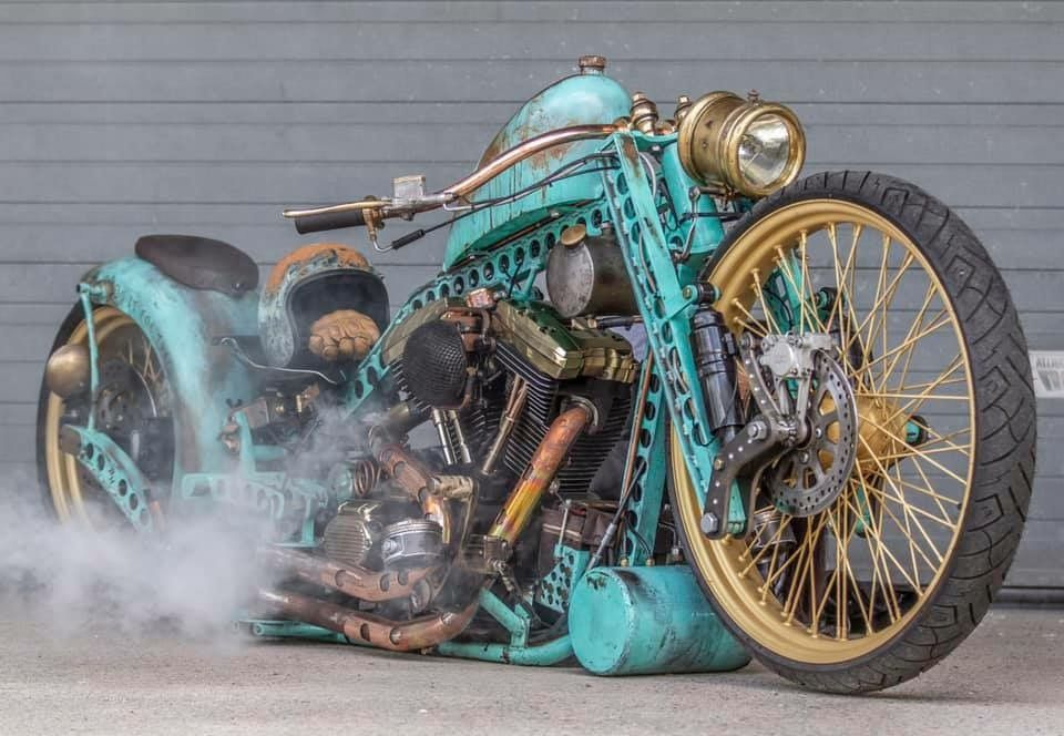 Rat Rod Motorcycle of Victor –  Gbg Customs