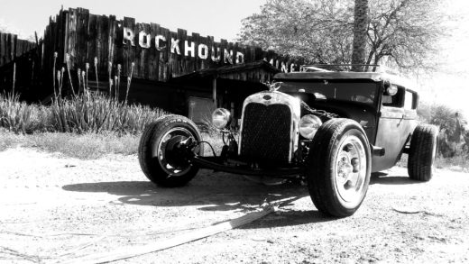 1929 Model A. Powered by a 472 Cadillac2
