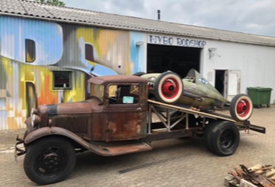 RatRod Truck by Jens Nybo – Denmark