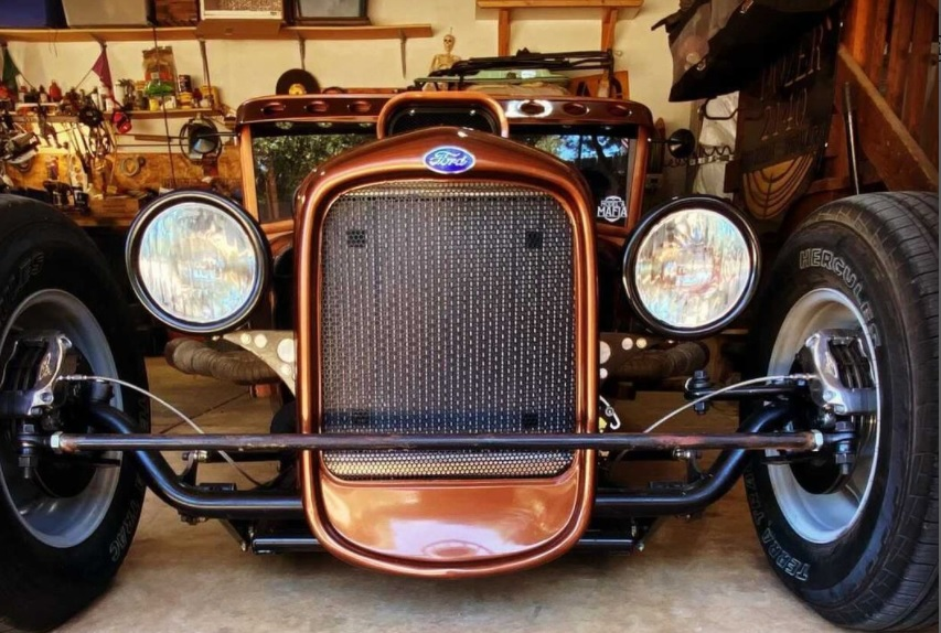 30 Ford PickRat Rod